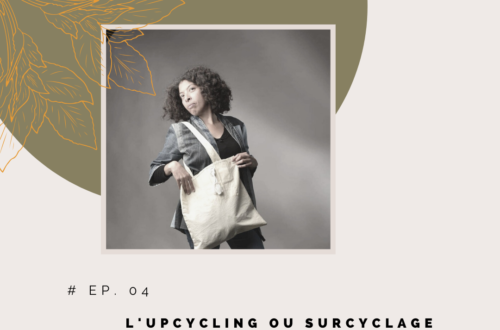 L'upcycling ou surcyclage avec fatima sebaai de saikna creation