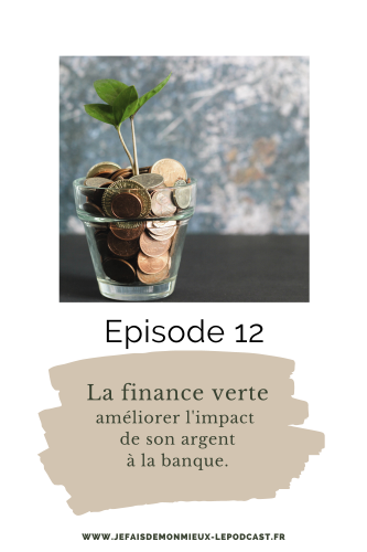 La finance verte- episode 12